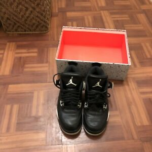 """49d2d8ac7606 Details about Nike Air Jordan 4 """"oreo"""" Size 8 With Original Box And Hang  Tag 100% Authentic"""