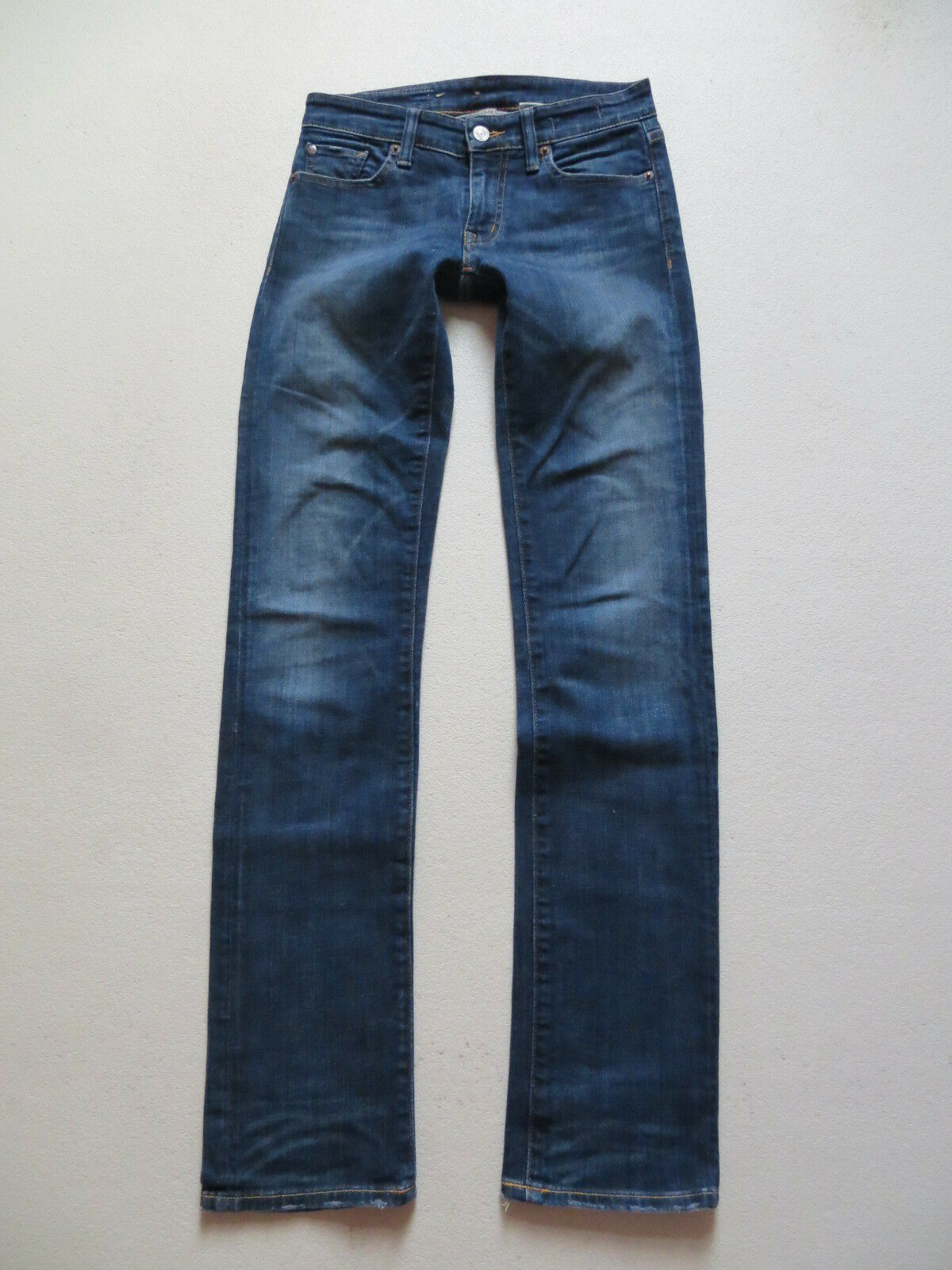 Ralph Lauren DENIM & SUPPLY Stretch Jeans Hose, W 25  L 32, bluee, TOP Waschung