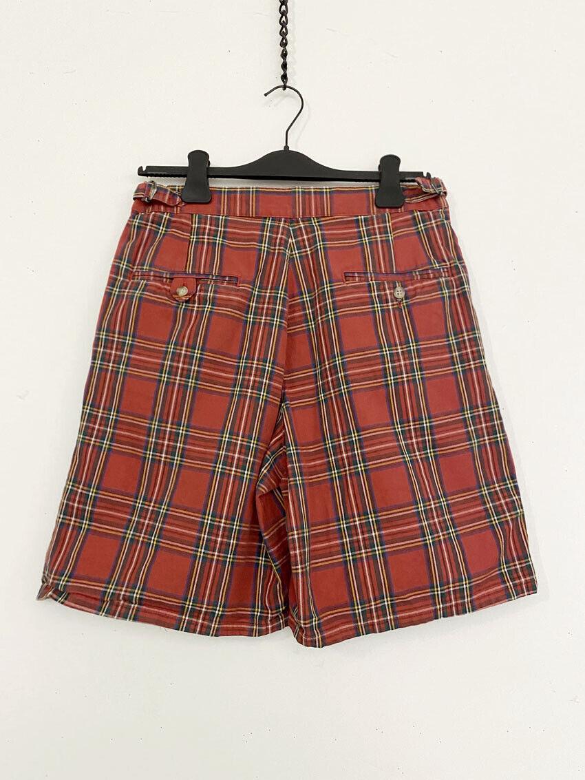 ⭕ 80s Vintage Ralph Lauren Plaid shorts : punk sh… - image 2
