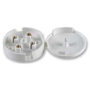 Sensible 5 Amp 4 Terminal Junction Box Câblage électrique Connecteur De Câble En Plastique Blanc 5 A-afficher Le Titre D'origine