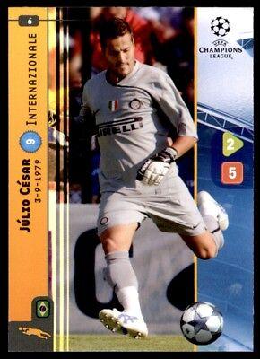 Panini Liga de Campeones 08//09 Tarjeta-Mancini 136 no Inter
