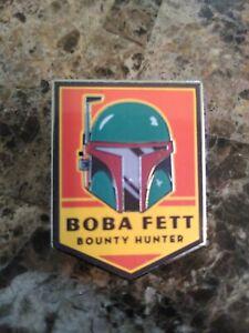 2018-Disney-Star-Wars-Mandalorian-Helmet-Boba-Fett-Pin-Rare