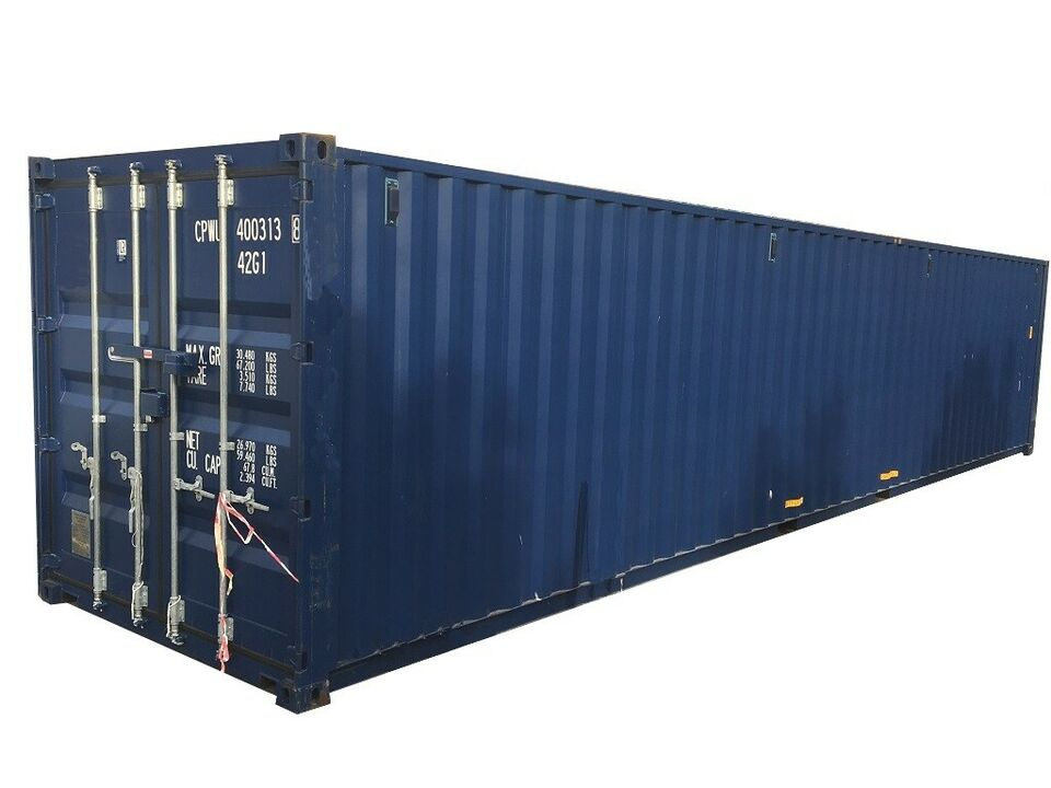 40´ HC standard container, ny, fra lager