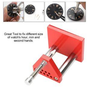 Watch-Reparatur-Werkzeug-Uhrmacher-Puller-Plunger-Remover-Hand-Presser-Fitting-Kit