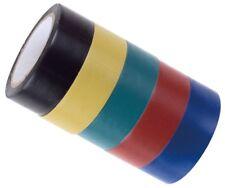 5 Rollen DKB Isolierband 19 mm x 10 m Klebeband farbig Elektriker