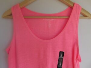 NWT-Gap-Women-039-s-Easy-Pink-Sleeveless-Tank-Top-Small-Free-Shipping-NEW