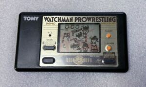 TOMY Game Watch Watchman Prowrestling Used Tested and works well