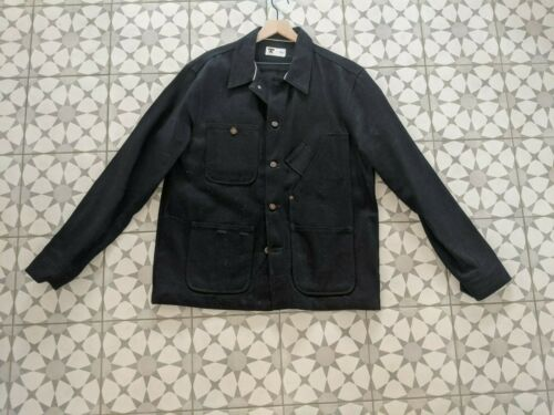 Tellason Coverall Chore Jacket Selvedge denim L