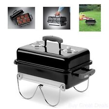 Grill Portable Charcoal Camping Anywhere Cooking Bbq Outdoor Kitchen New