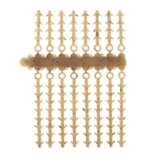 5 Stück Plastik Boilie Stopper Karpfen Angeln Pellets Bands Köder Stopper