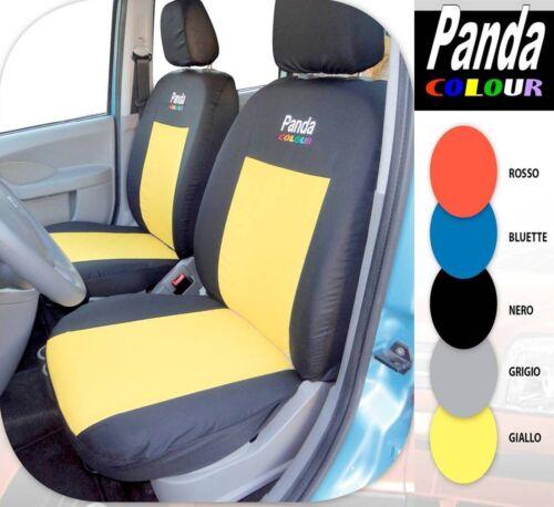 """FODERE COPRISEDILI PER AUTO SU MISURA COMPLETE /""""COLOR/"""" PER  FIAT PANDA 2004-2011"""