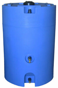Image is loading 160-Gallon-Stackable-WaterPrepared-Emergency-Home-Water- Storage- & 160 Gallon Stackable WaterPrepared Emergency Home Water Storage Tank ...