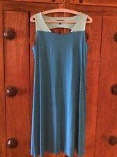 Eileen Fisher Nuevo sin etiquetas Mujer Vestido Azul dos tonos _ pequeño
