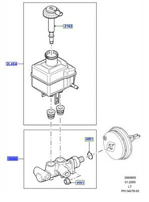 Discovery 3 Range Rover Sport Master Cylinder Repair kit LR014527