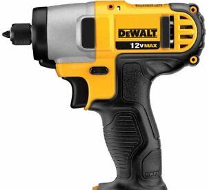 Dewalt compact 12v max 1/4 hex Impact Drill *Bare Tool*