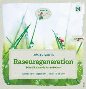 Rasenregeneration  easySeed  schnellkeimende Gräser 19668 Rasenpellets