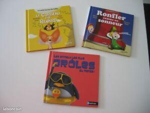 Lot de 3 livres en TBE enfants