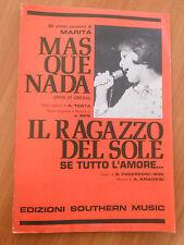 748E - SPARTITO DE GLI ULTIMI SUCCESSI DI MARITA ED. SOUTHERN MUSIC 1969