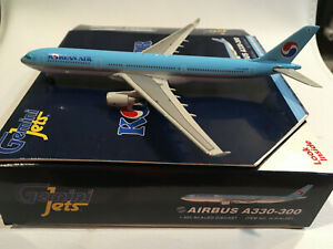 1/400 Gemini Jets Korean Air Airbus A330-323X HL7754 Sky Team Logo ID# GJKAL661.