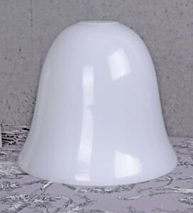 Replacement Glass Art Deco Lamp Shade Milk Glass Shade Opal White
