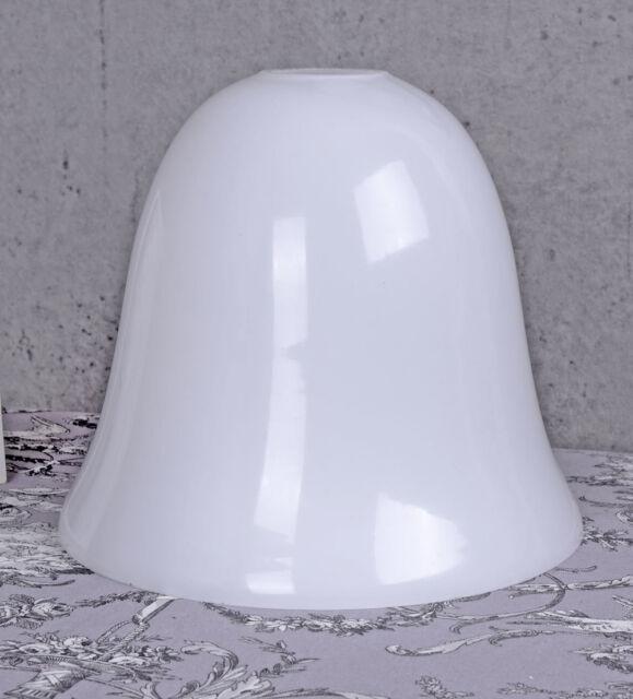 Replacement Gl Art Deco Lamp Shade Milk Opal White Mazda New