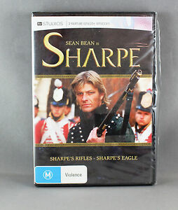 SHARPE-039-S-RIFLES-EAGLES-DVD-R4-BRAND-NEW-SEALED-STARRING-SEAN-BEAN