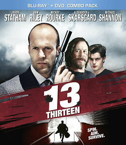 NEW-BLU-RAY-DVD-13-Sam-Riley-Mickey-Rourke-Jason-Statham-Ray-Winstone