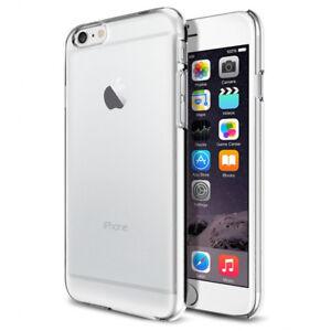 Coque-rigide-transparent-pour-iPhone-4-4S-5-5S-SE-6-6S-7-8-X-XS-XR-XS-MAX-Plus