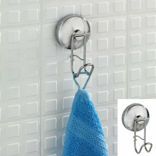 Handtuchhalter Wenko Magic Loc Edelstahl Wandhaken Badezimmer Haken ohne Bohren