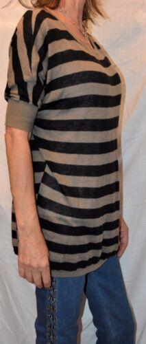 de Vince Surdimensionné Pull Womens en Pull Taille Petit coton Amusant tricot rayé q77IrWCwn
