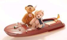 Steiff bears* Teddy Bear with Riva Boat Limited Edition cm*Ean038860