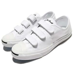 7cdb4fdd6a14ca Converse Jack Purcell 3V Canvas White Men Women Shoes Sneakers ...