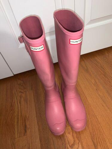 Hunter Boots Women size 9 Pink