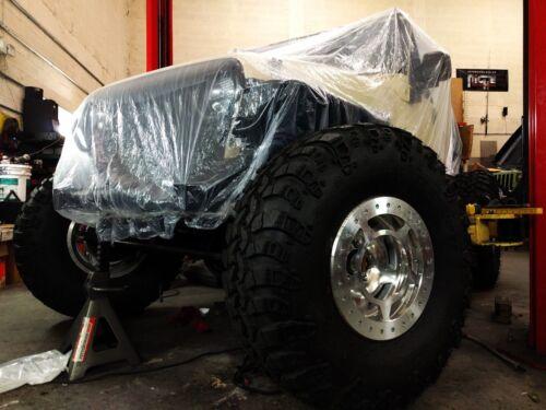 1 Clear Universal Temporary Disposable Car Cover Rain Dust Garage High Quality