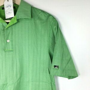 Restricciones Denso vistazo  Tiger Woods Collection Nike Fit Dry Mens Green Tight Pattern Polo Golf Shirt  | eBay