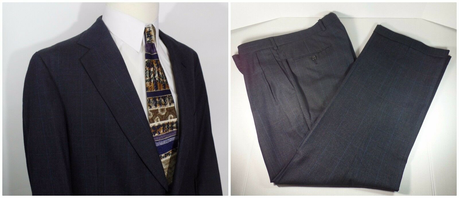 42R 36X30 2-Piece Suit by POLO UNIVERSITY CLUB RALPH LAUREN 42 Regular 36W 30L