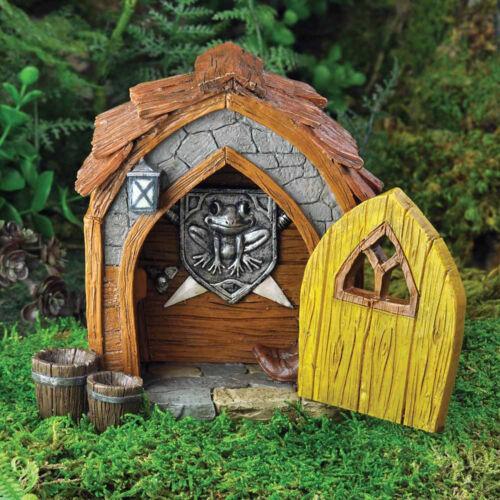 Têtes de Violon Nain Hall D/'Accueil Jardin Fée Miniature Fées Hobbit Accessoire