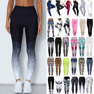 Women-039-s-Jogging-Yoga-Fitness-Leggings-Workout-Gym-Sports-Pants-Stretchy-Trouser
