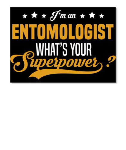 Sticker Details about  /Custom Entomologist I/'m An What/'s Your Superpower Sticker Landscape