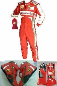 Gokart-Santander-RACE-SUIT-CIK-FIA-Level-2-zugelassen-mit-Schuhe