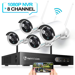 HeimVision HM241 Wireless Security Camera System, 8CH 1080P  System Security