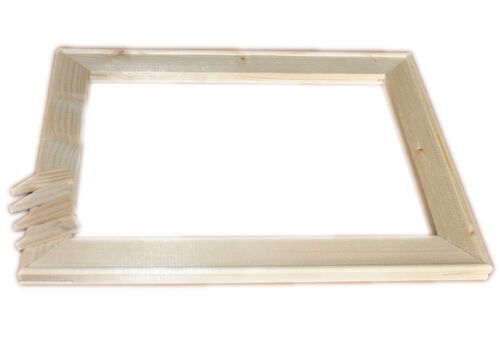 Canvas Stretcher Bars  Wooden Frames High Quality  Free Hanging Kit