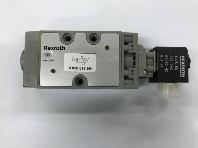 Rexroth 0820058028 Directional Valve Directional Valve 230V 1W 10Bar NEW SMT