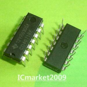 5pcs CD4082BE CD4082 CMOS AND GATES DIP-14