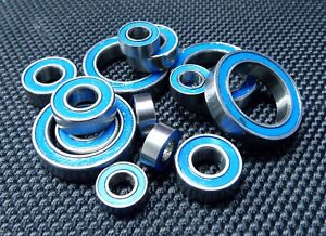 Rubber Sealed Ball Bearing Bearings Set FOR KYOSHO GP ULTIMA ST TYPE-R BLUE