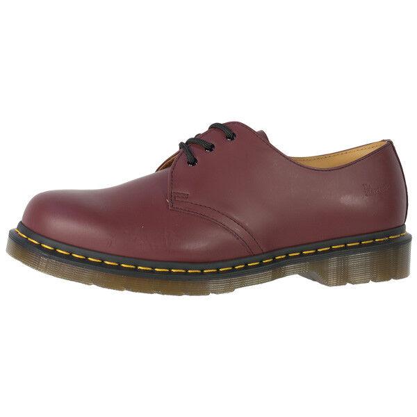 Dr doc Martens 1461 zapatos de piel botas 3 agujeros Cherry rojo smooth 11838600