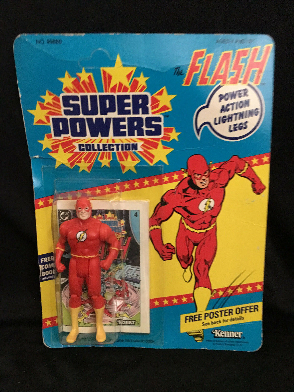 Kenner Super Powers Action Figures The Flash