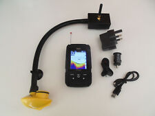 Wireless Colour Bait boat fish finder, +150m range, simple to attach. Features