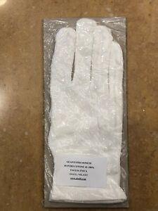 Gloves-for-Coins-in-Pure-White-Cotton-Size-Unique