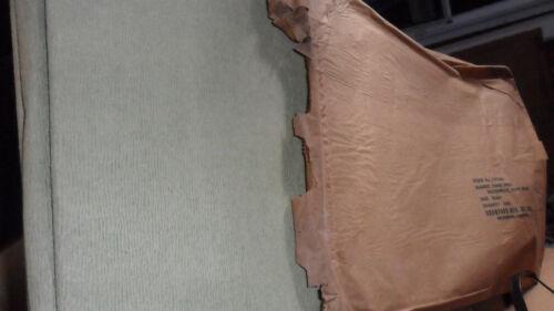 Korean War Medic Paper Blanket SN 7-157-895 Olive Drab